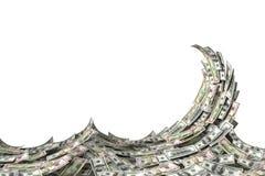 Geld-Welle lizenzfreie abbildung