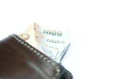 geld zak Stock Fotografie