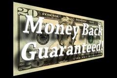 Geld zurück garantierte Konzept Stockfotos