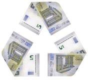 Geld-Zyklus Stockbild