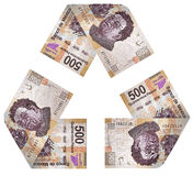 Geld-Zyklus Lizenzfreies Stockfoto