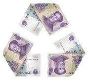 Geld-Zyklus Stockbilder