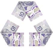 Geld-Zyklus Stockfotografie