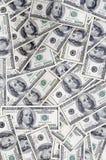 Geldachtergrond Stock Foto
