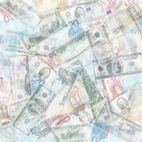 Geldachtergrond Stock Foto's