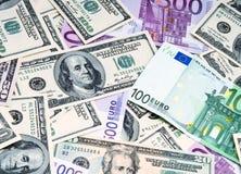 Geldachtergrond Royalty-vrije Stock Fotografie