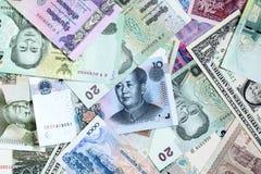 Geldachtergrond Royalty-vrije Stock Foto