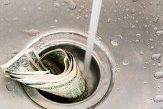 Geldafvoerkanaal Stock Afbeeldingen