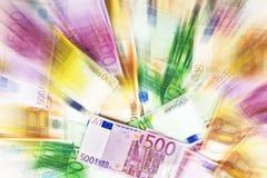 Geldauszug Lizenzfreie Stockfotos