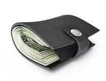 Geldbörse Stockbild