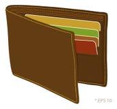 Geldbörse stock abbildung
