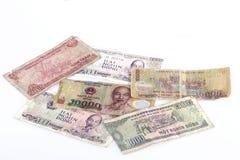 Geldbankbiljetten van Vietnam Stock Afbeeldingen