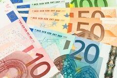 Geldbargeldnahaufnahme Stockfotos