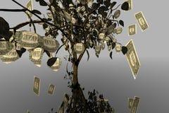 Geldbaum Lizenzfreies Stockfoto