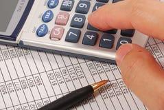Geldbetrag benötigt für Ruhestand Lizenzfreies Stockfoto