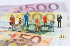 Geldbrüder Lizenzfreie Stockbilder