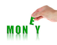 Geldconcept royalty-vrije stock foto