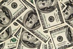 Gelddollars Royalty-vrije Stock Afbeelding