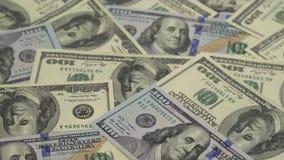 Gelddrehungen - der Hintergrund stock footage