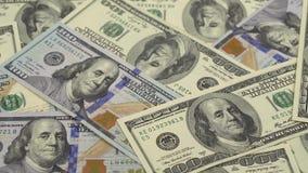 Gelddrehungen - der Hintergrund stock video