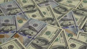 Gelddrehungen - der Hintergrund stock video footage