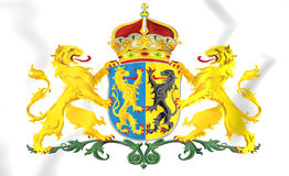 Gelderland Province Coat of Arms, Stock Photography