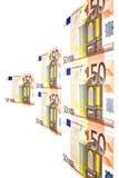 Geldeuro Lizenzfreies Stockbild