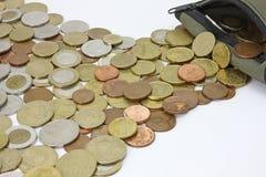 Geldfluß Lizenzfreie Stockfotografie