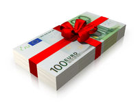 Geldgeschenk Lizenzfreie Stockbilder