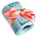 Geldgeschenk Stockbilder