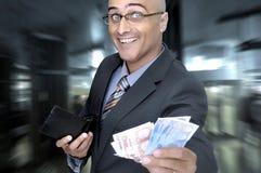 Geldgespräche stockfotos