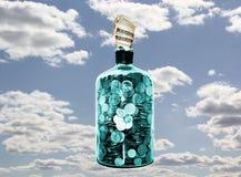 Geldglas Stockfoto