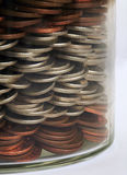 Geldglas Lizenzfreies Stockfoto