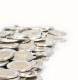 Geldhaufen (Nahaufnahmeabbildung) Lizenzfreie Stockfotografie