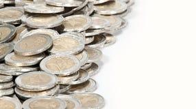 Geldhaufen (Nahaufnahmeabbildung) Stockbilder