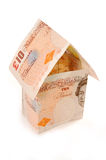 Geldhaus Lizenzfreies Stockfoto