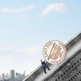 Geldherstellung Lizenzfreies Stockbild