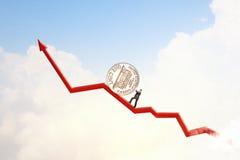 Geldherstellung Lizenzfreie Stockfotografie