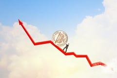 Geldherstellung Lizenzfreies Stockfoto