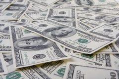 Geldhintergrund Stockfotos