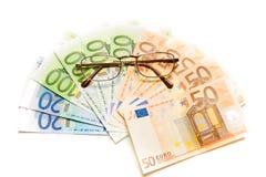 Geldhintergrund Lizenzfreies Stockfoto