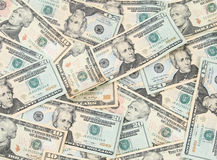 Geldhintergrund Stockbild