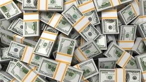 Geldhintergrund, Dollar vektor abbildung