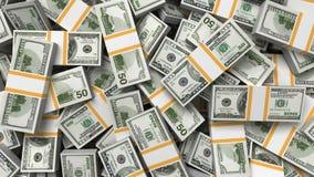 Geldhintergrund, Dollar lizenzfreie abbildung
