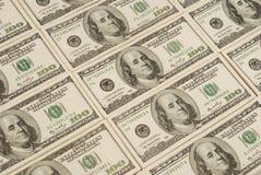 Geldhintergrund von den Dollar USA lizenzfreie stockfotografie