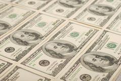 Geldhintergrund von den Dollar USA lizenzfreies stockfoto