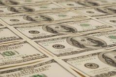 Geldhintergrund von den Dollar USA Stockfotografie