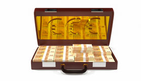 Geldkasten des Gegenstandes 3d Lizenzfreie Stockbilder