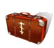 Geldkoffer stock illustratie