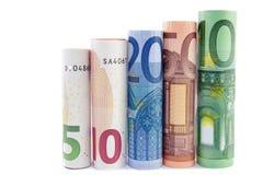 Geldkontrollturm - Querneigungkonzept Stockbild